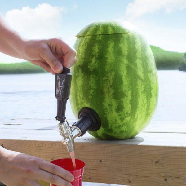 Final Touch Deluxe Watermelon Keg Tapping Spigot Kit