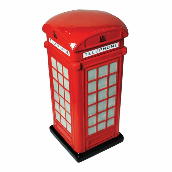 Phone box biscuit tin