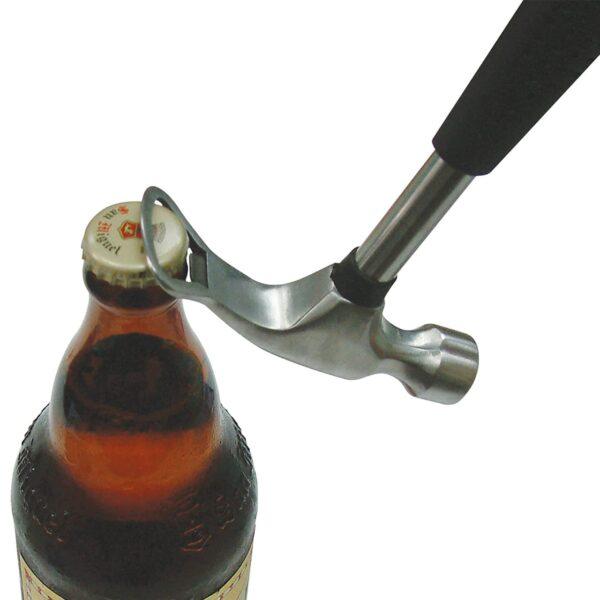 Barbuzzo Hammer Multipurpose Beer Bottle Opener and Ice Crusher