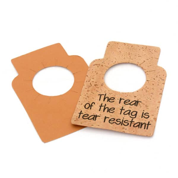 Pack of 24 Cork Wine Tags