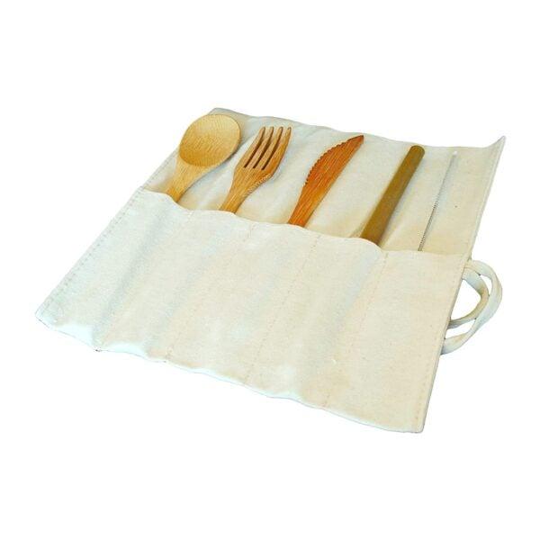 Eat Eco Bamboo Cutlery 6 Piece Set