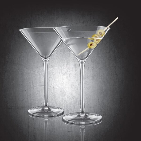 Set of 2 Final Touch® DuraShield™ Martini Glasses