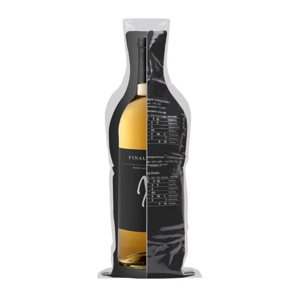 Final Touch Wine Protector Carrier Travel Bag