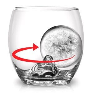 On The Rock Glass with Ice Ball Mould