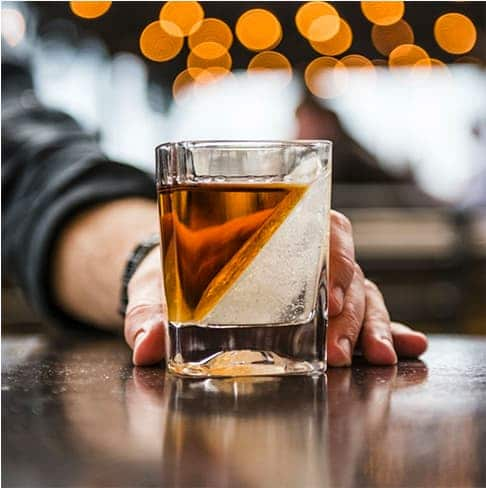 Whiskey Wedge Glass Tumbler
