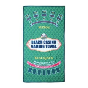 Vegas Nights Gaming Beach Towel