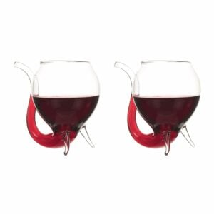 Set of 2 250ml Bar Bespoke Wino Sippo Glasses