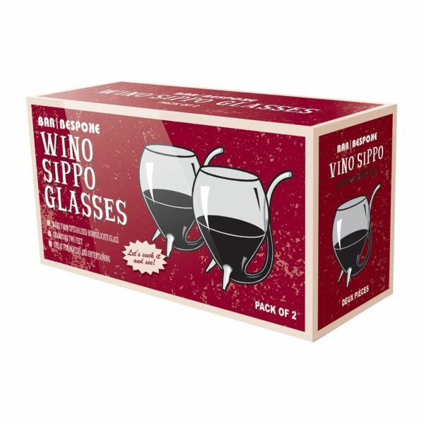 Set of 2 250ml Bar Bespoke Wino Sippo Glasses