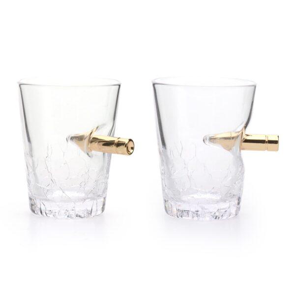 Neuheit Schnapsgläser Bullet Crack Glass 60ml