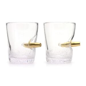 Novelty Bullet Shot in the Glass Tumbler Glasses 300ml