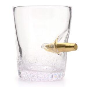 Novelty Bullet Shot in the Glass Tumbler Glasses 300ml
