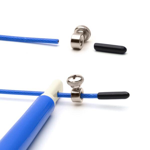 CKB Ltd Wire Skipping Rope Blue