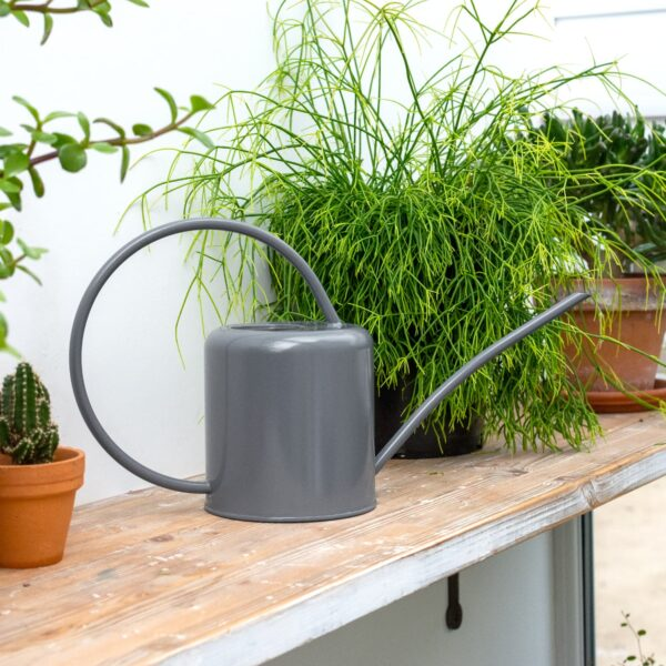 Charcoal Grey Indoor Plant Watering Can 1.4L