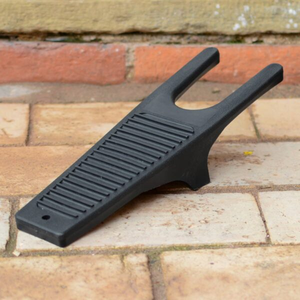 Black Plastic Boot Jack Remover and Mud Scraper